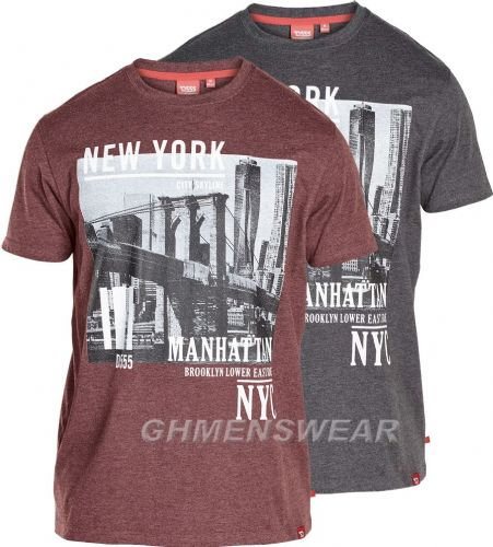 D555 NEW YORK CITY T SHIRT